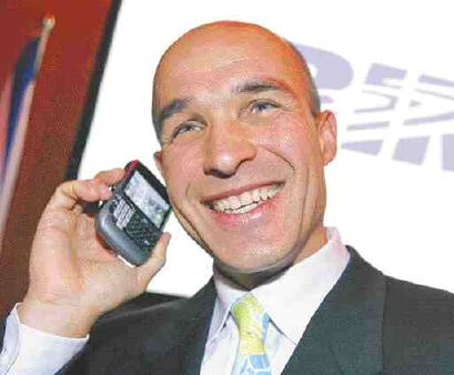 Jim Balsillie talking with an acquirer? - Samsung says it is not interested in RIM; latter's stock falls after-hours
