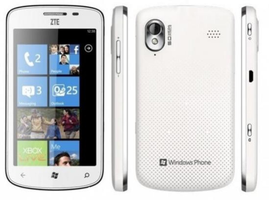 The ZTE Tania announced at CES - ZTE wants to break into the high-end smartphone market in the U.S.
