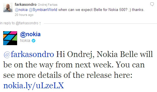 Nokia Belle might arrive prematurely to older devices ...