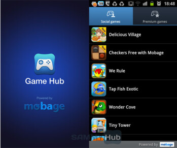Samsung Game Hub updated with more social games