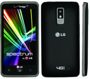 "LG Spectrum lands on Verizon today: 4.5"" HD screen, LTE connectivity"