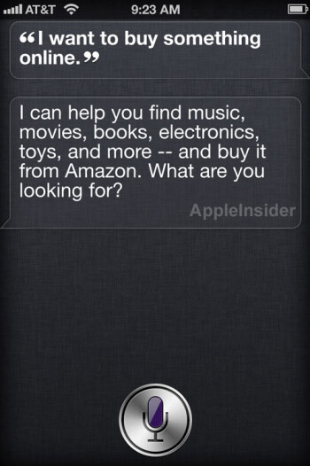 Will Siri say this in the future?