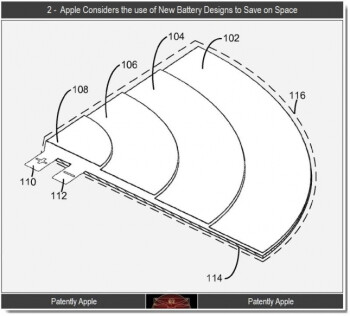 Apple battery patent reveals non-rectangular batteries