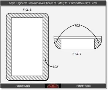 Apple battery patent reveals non-rectangular batteries