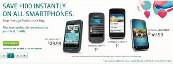 US Cellular's new promotion shaves $100 off all smartphones until Valentine's Day