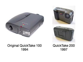 Apple's digital cameras