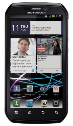 The Motorola PHOTON 4G