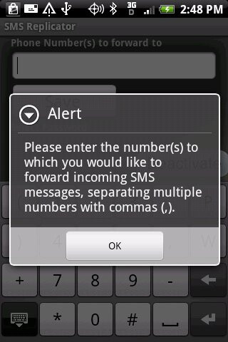 Secret SMS Replicator (left) and Financial Times (right) - 10 banned Android and iPhone apps