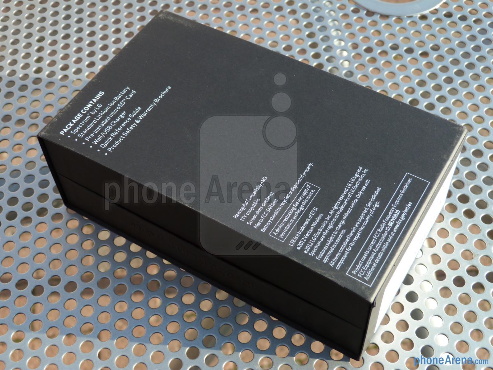 verizon wireless lg spectrum manual