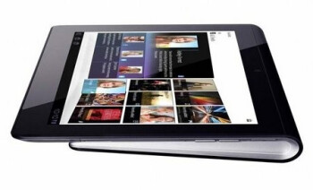 Unique look of the Sony Tablet S