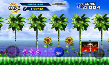 Sonic 4 Episode 1 finally dashes its way to Android, priced at $3.99