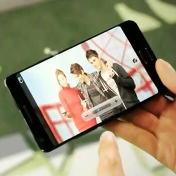 Was this the Samsung Galaxy S III in a video?