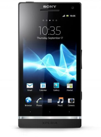 Dirt should bounce off the Sony Xperia S