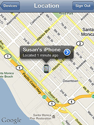 Find my iPhone can help find a stolen unit