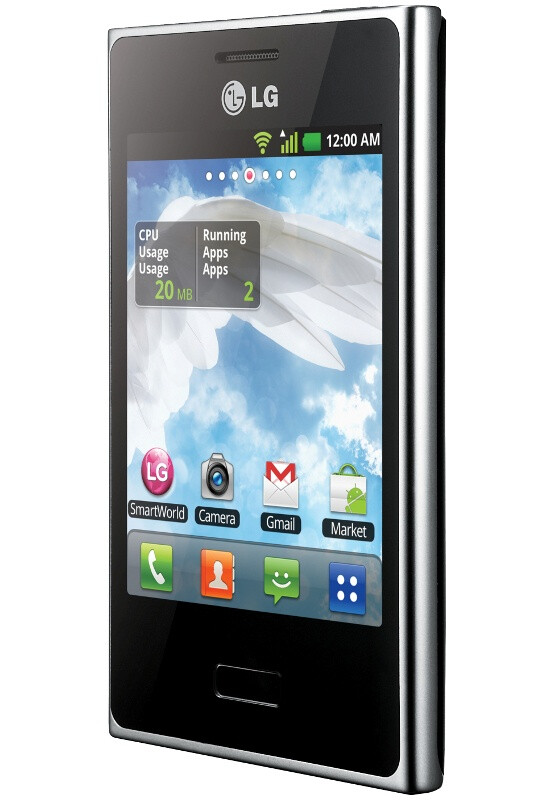 The LG Optimus L3 - LG Optimus L3 discovered, serves Android on the cheap