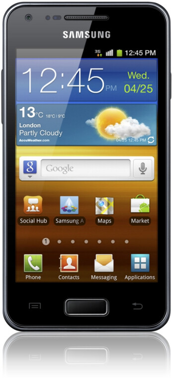 Samsung Galaxy S Advance official: Android mid-ranger with two CPU cores