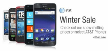 Amazon fights the weather blues with an AT&T Winter Sale, phones get free or cheapen