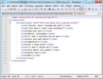 Could this code belong to Majel?