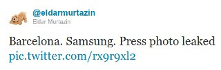 Samsung Galaxy S II Plus press photos leak out, coming at MWC?