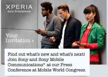 Sony announces MWC event for Feb 26th