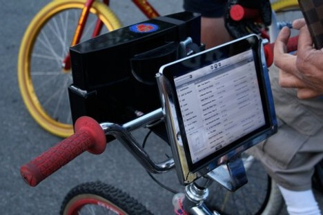 iPad Bicycle Dock