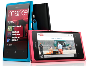 Sold out in Ireland, the Nokia Lumia 800