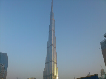 11. RamyRamz - Sony Ericsson Xperia arcBurj Khalifa