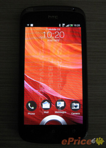 Leaked pictures of the HTC Ville