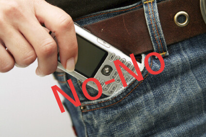 No phones in the pockets
