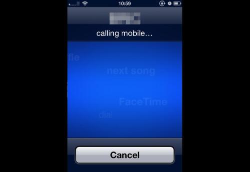 Initiating a call