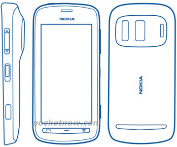 Alleged Nokia 803 render from the device's manual