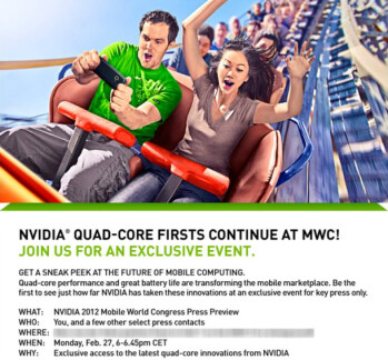 HTC to increase NVIDIA's Tegra 3 orders, quad-core phones all but confirmed for MWC