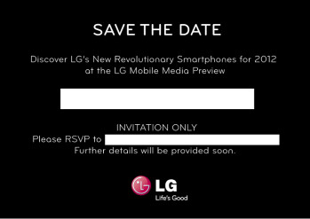 "LG to hold a ""revolutionary smartphones"" Media Preview event on the cusp of MWC"