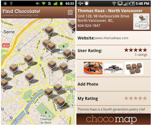 Find Chocolate!