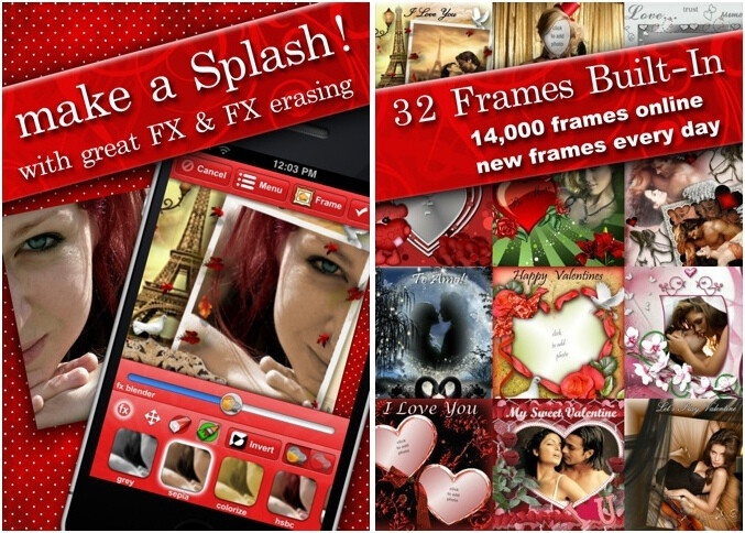 Love and Valentine's Day Frames