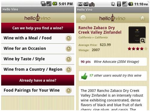 Hello Vino – Wine App