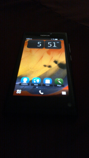Nokia 801 image leaks out: Lumia 800-like Symbian front-runner?