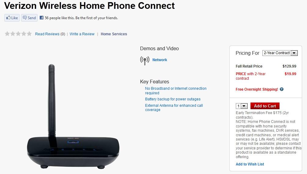 verizon home phone connect redux