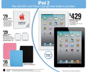 Meijer puts the iPad 2 on sale, will make a splendid Valentine's day gift