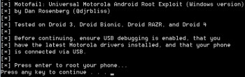 Easily Root your DROID 4 & 3, RAZR, RAZR MAXX, and BIONIC