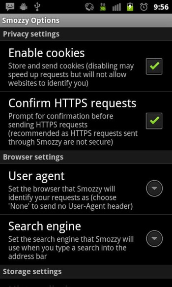 Smozzy for Android lets you surf the web for free (kind of)
