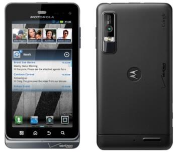 The Motorola DROID 3