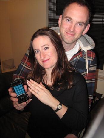Patrick Long and Jenny Longman