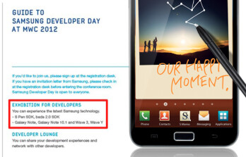 Is a Samsung Galaxy Note 10.1 coming to MWC 2012?