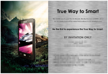 Is the LG Optimus LTE coming to Europe? MWC 2012 invitation suggests so