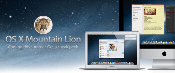 Apple unveils OS X Mountain Lion borrowing heavily from iPad