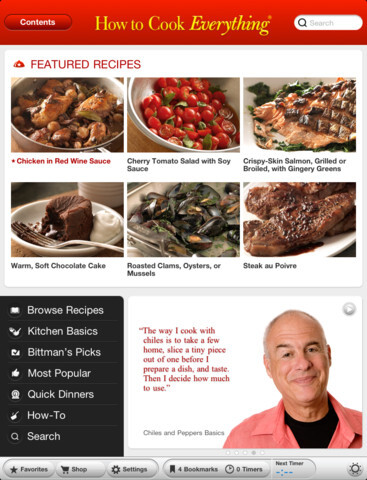 How to cook everything by Mark Bittman ($9.99)