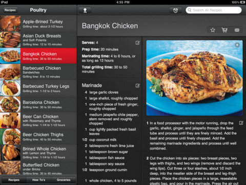 Weber's on the Grill for iPad ($4.99)