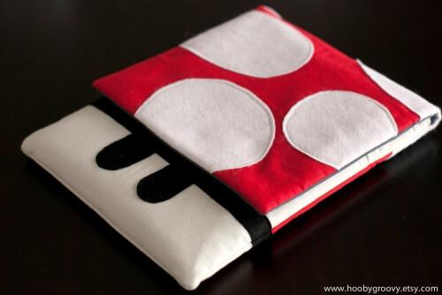 Super Mushroom iPad pouch