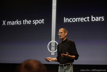 Images from infamous Apple Antennagate press conference